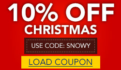 10% Off All Christmas Items