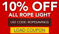 10% Off All Rope Light