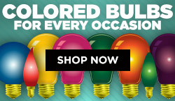 Colored Bulbs For Any Occasion