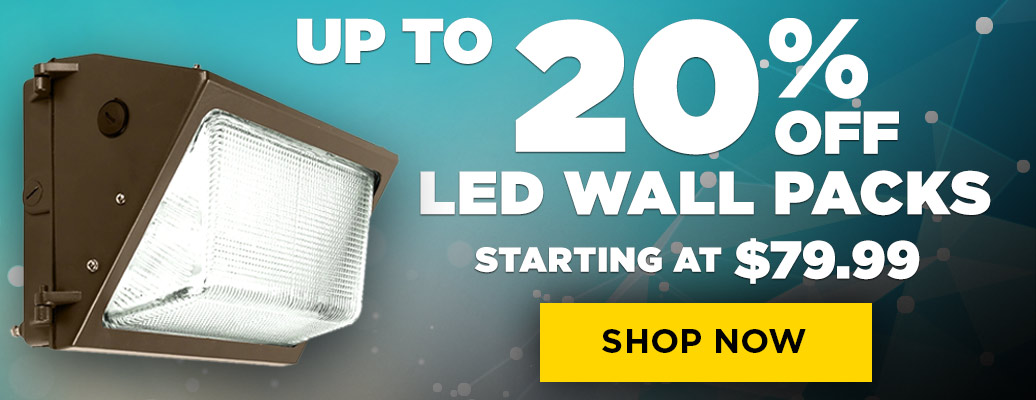 Up to 20% Off These LED Wall Packs