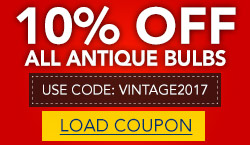 10% Off LED & Incandescent Antiques!