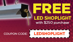 Free Shoplight with a $250 Purchase!