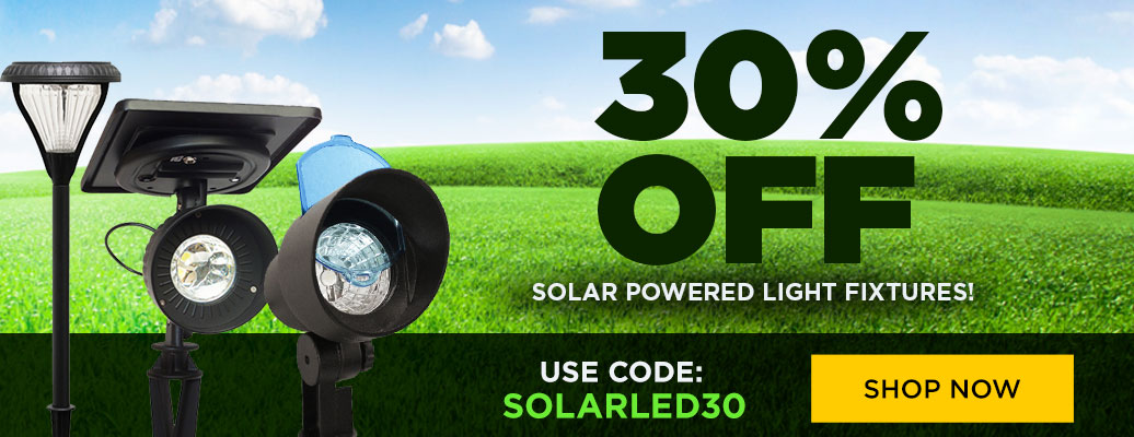 30% Off Solar Lights