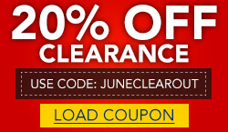 Extra 20% Off Clearance