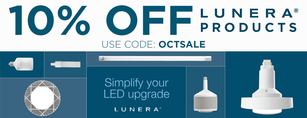 10% Off Lunera Products