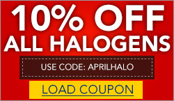 10% Off Halogens