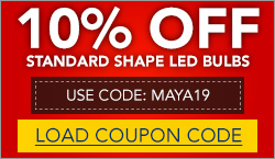10% Off Standard Shaped LEDs