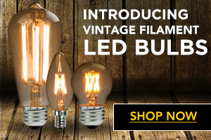 LED Antique Filament Bulbs Image