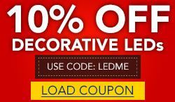 10% Off Decorative LEDs