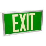 Dual Face Photoluminescent Exit Signs - Category Image