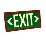 Vandal Photoluminescent Exit Signs - Category Image