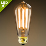 LED Filament Bulbs - Incandescent Style