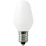 Frosted C7 Incandescent Light Bulbs