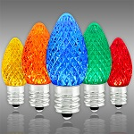 Multi-Color C7 LED Replacement Christmas Light Bulbs - Category Image