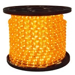Amber LED Rope Light - 3/8 in. - 120V - Category Image