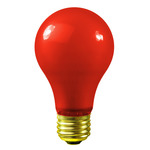 Red A19 Light Bulbs - Category Image