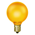 Yellow G16.5 Globe Lights - Category Image