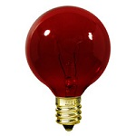 Red G12 Globe Lights - Category Image