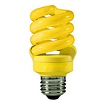 Yellow Compact Fluorescent Bulbs - Category Image