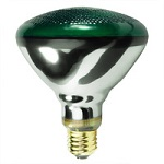 Green Weatherproof BR38 Lamps - Category Image