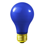 Blue A19 Light Bulbs - Category Image
