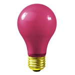 Pink A19 Light Bulbs - Category Image
