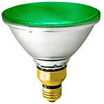 Colored PAR38 Halogen Bulb - Category Image