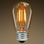Nostalgic LED S11 and S14 Bulbs - LED Filament - Category Image