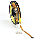 Cool White LED Tape Light - 12 Volt and 24 Volt