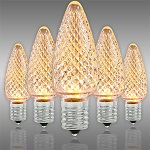 Champagne LED Christmas Bulbs - Category Image