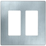 Stainless Steel Two Gang Wall Plates - Category Image