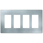 Stainless Steel Four Gang Wall Plates - Category Image