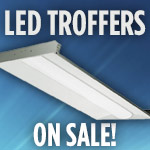 LED Troffers On Sale - Category Image
