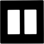2 Gang Wall Plates - Black - Category Image
