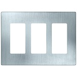 Stainless Steel 3 Gang Wall Plates - Category Image