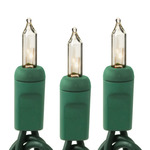 Green - Mini Christmas Lights - 15 ft. to 35 ft. - Category Image