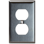 Duplex Receptacle Wall Plates - Stainless Steel - Category Image