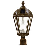 Weathered Bronze - Solar Post Top Lamps - Category Image