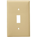 1 Gang Wall Plate - Ivory - Category Image