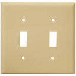 2 Gang Wall Plate - Ivory - Category Image
