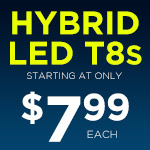 Hybrid LED T8s - Category Image