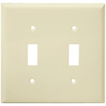 2 Gang Wall Plates - Almond - Category Image