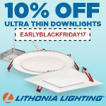 Lithonia Ultra Thin LEDs - 10% Off - Category Image