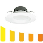 Warm Dim LED Downlights - Category Image