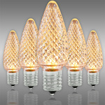 Warm White Deluxe C9 LED Christmas Light Bulbs - Category Image