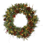 Mixed Berry Christmas Wreaths - Category Image