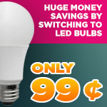 99¢ Energy Saving LEDs - Category Image