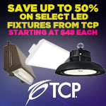 Save up to 50% on select LED fixtures from TCP, starting at $48 each! - Category Image