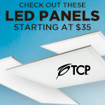 Save On TCP LED Panels - Category Image