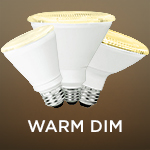 Warm Dim PAR Bulbs - Category Image